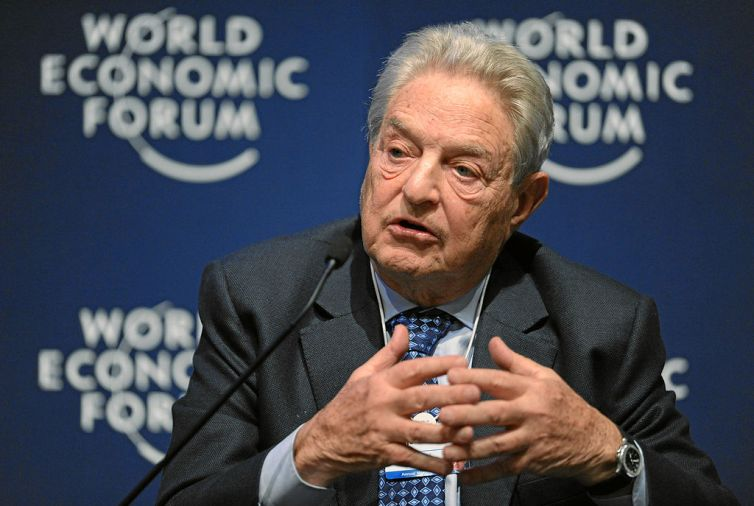 George Soros is an American-Hungarian businessman and known philanthropist. Credit: World Economic Forum/Wikimedia, CC BY-SA