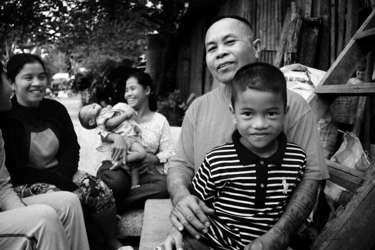 The Cambodian Children's Trust family preservation work keeps families together. Credit: Tara Winkler, author provided