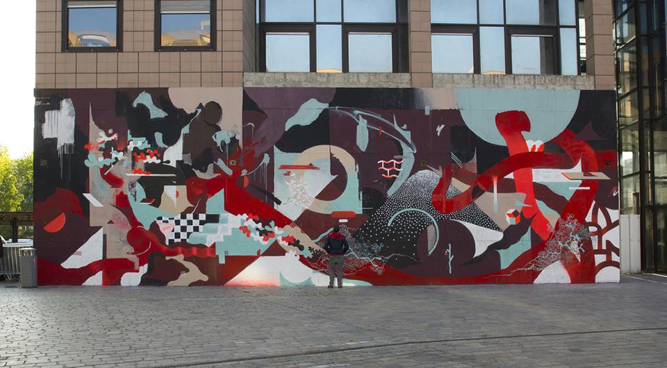 Neli0 Modern French Graffiti