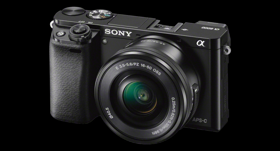 Sony A6000 Mirrorless DSLR Camera