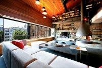 Contemporary-Rustic Karakoy Loft Overlooks Modern Istanbul