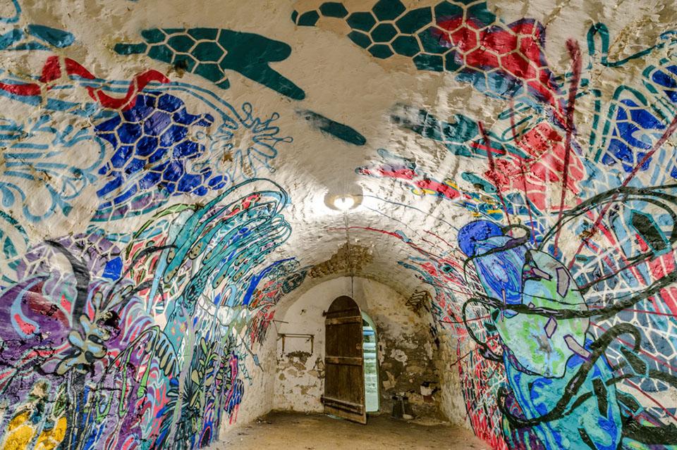 Abandoned Installation Art by Herbert Baglione