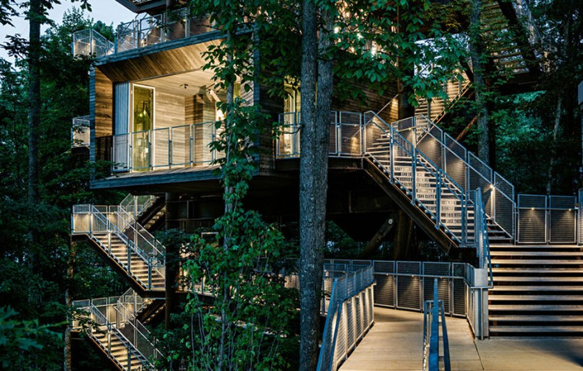 The Sustainability Treehouse Photo by Joe Fletcher wide - THE MOST AMAZING GLASS HOUSE PICTURES THE MOST BEAUTIFUL HOUSES MADE OF GLASS IMAGES