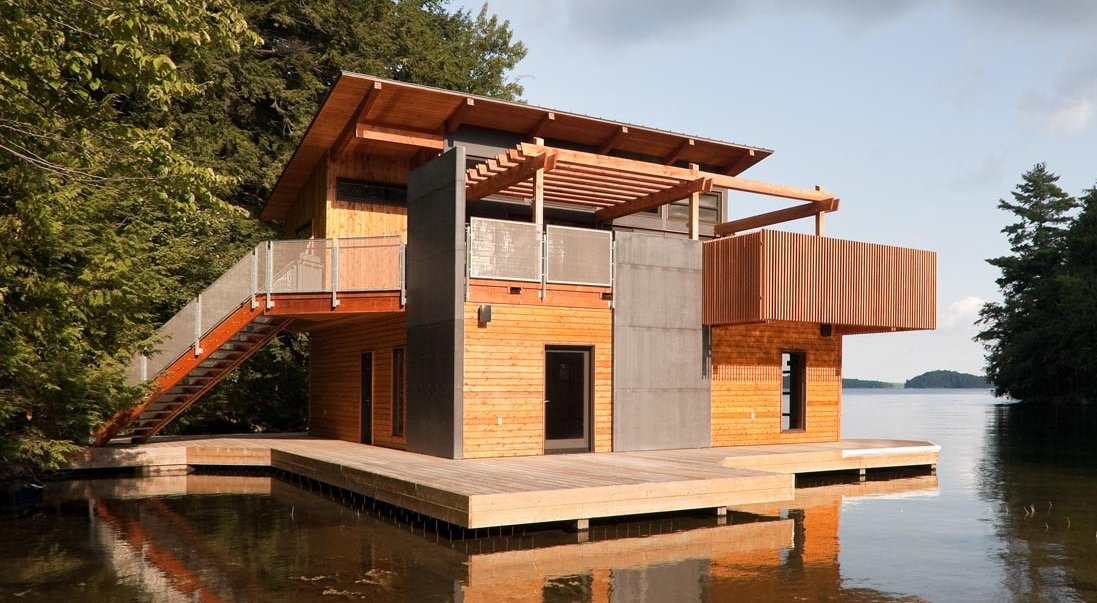 16 Modern Floating Houses for Cool Lazy Pirates