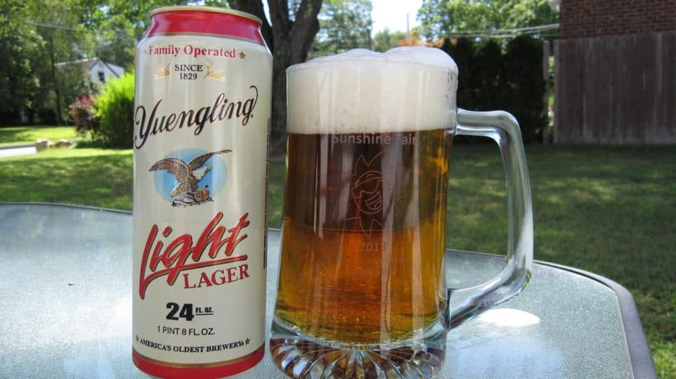 Yuengling Light Calories