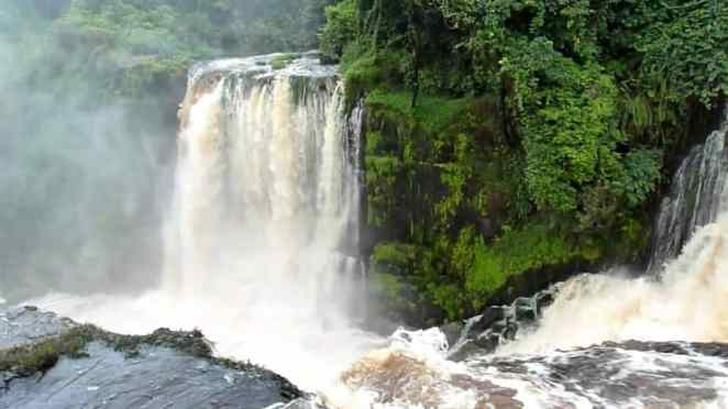 Kongou waterfalls