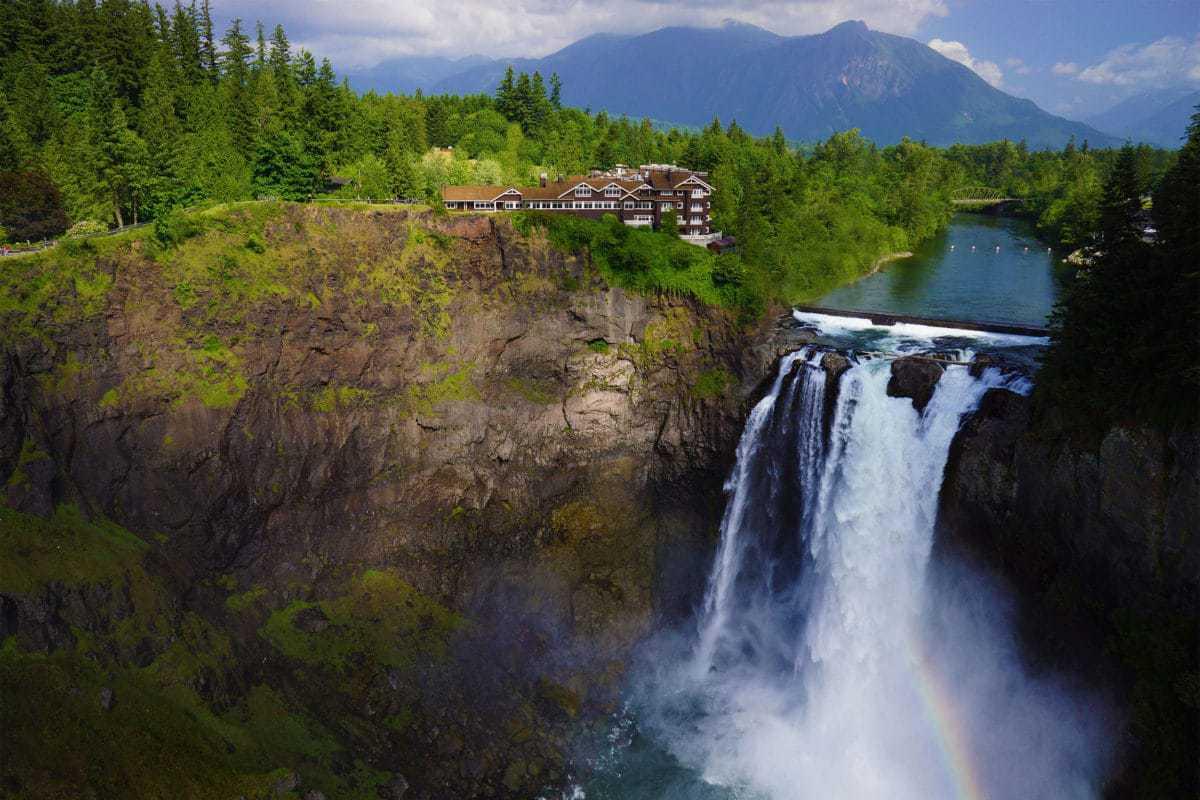 Snoqualmie Falls Wallpaper 15 Best Resorts In Washington The Crazy Tourist