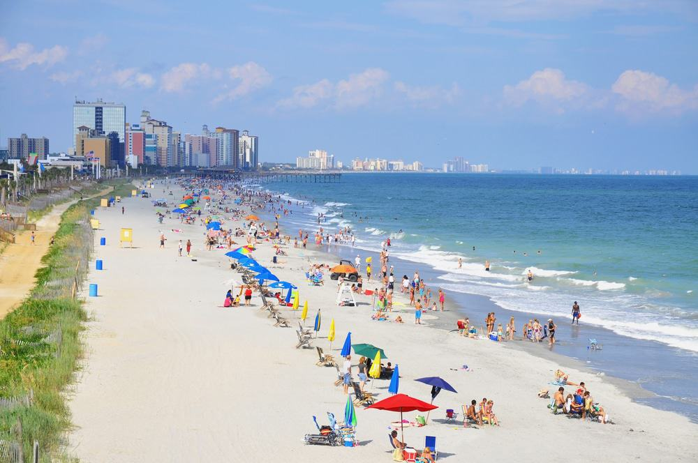 15 Best Beaches In South Carolina The Crazy Tourist