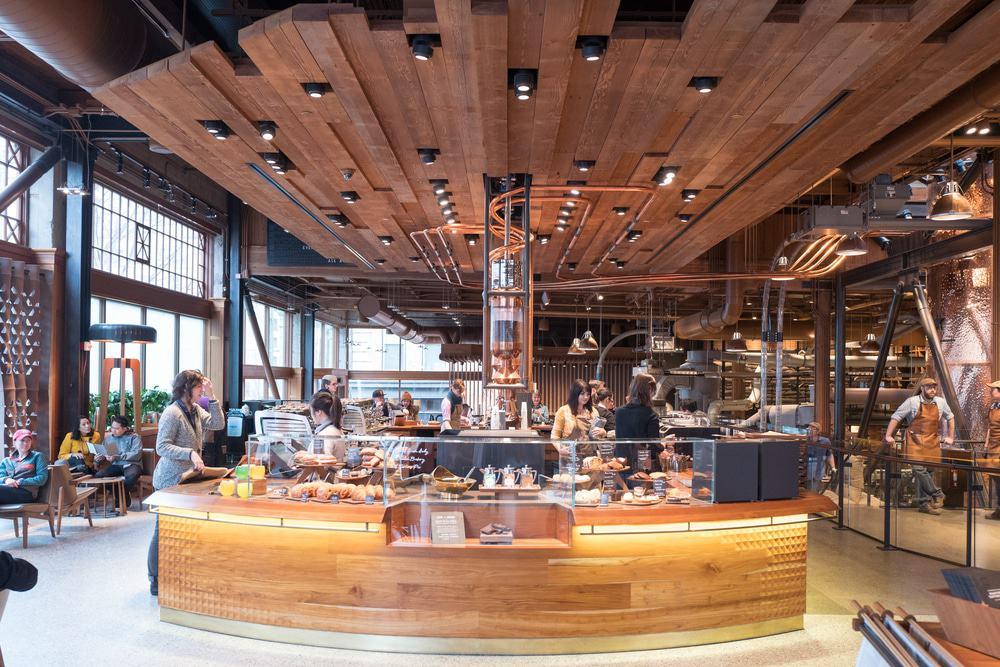 Starbucks Reserve & Roastery, Seattle