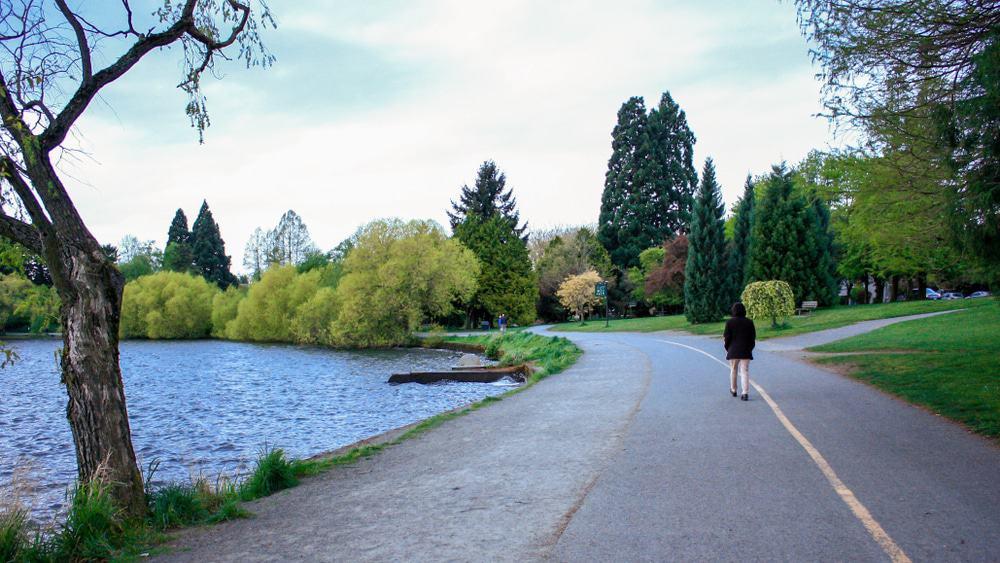 Parque del lago verde, Seattle