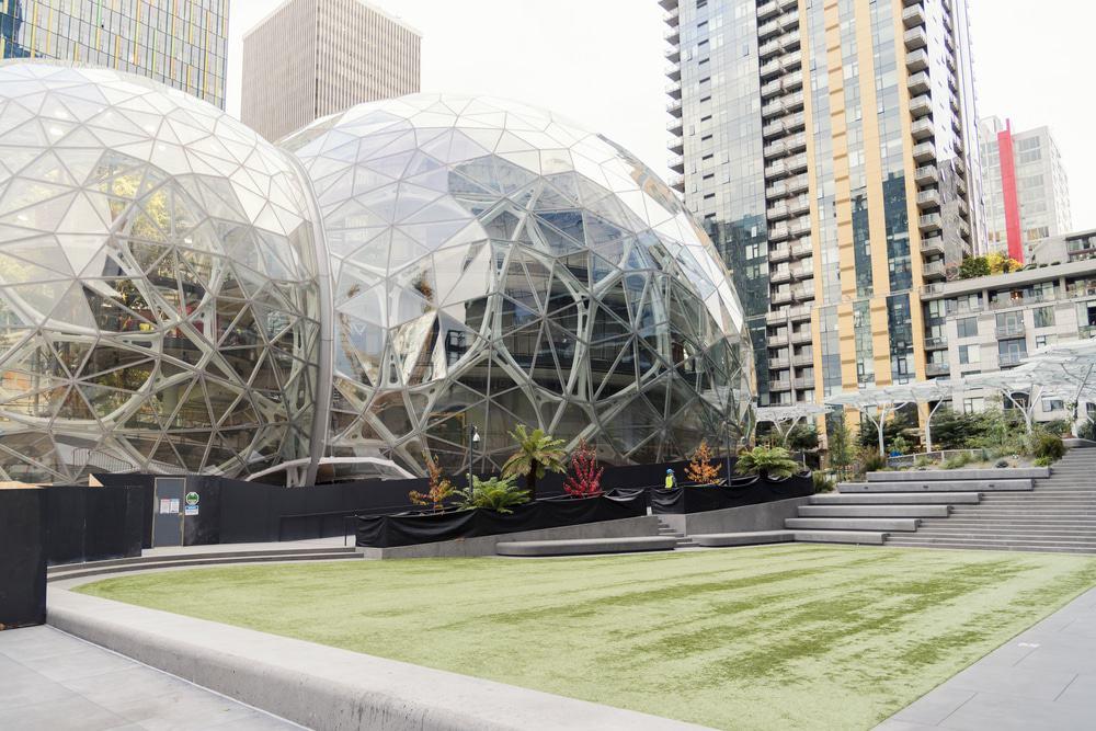 Esferas del Amazonas, Seattle