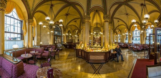 Cafe Sacher Wien The Grand Decor Of