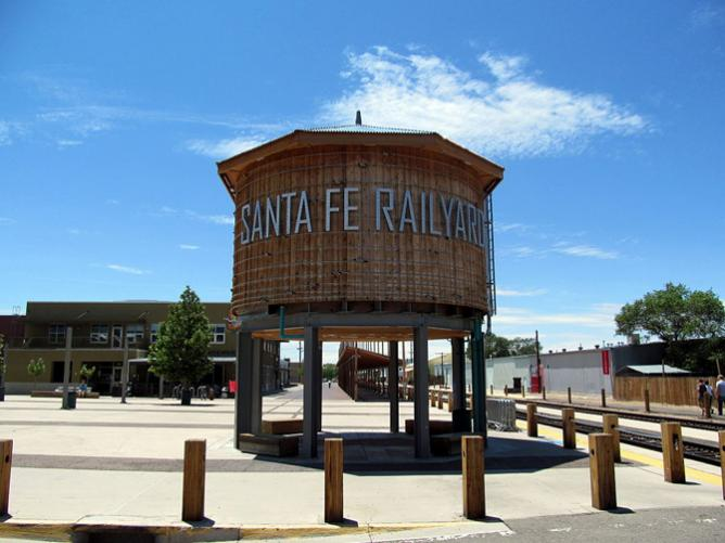 Santa Fe Railyard District | © Jmeeter