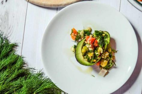 Tabbouleh with Dill and Avocado | Courtesy of Erin Neil/Spoontang Kitchen