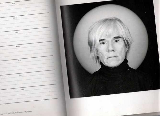 Andy Warhol, 1987 @ The Estate of Robert Mapplethorpe | © Gisela Giardino/Flickr