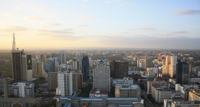 Nairobi skyline   © Clara Sanchiz/Flickr