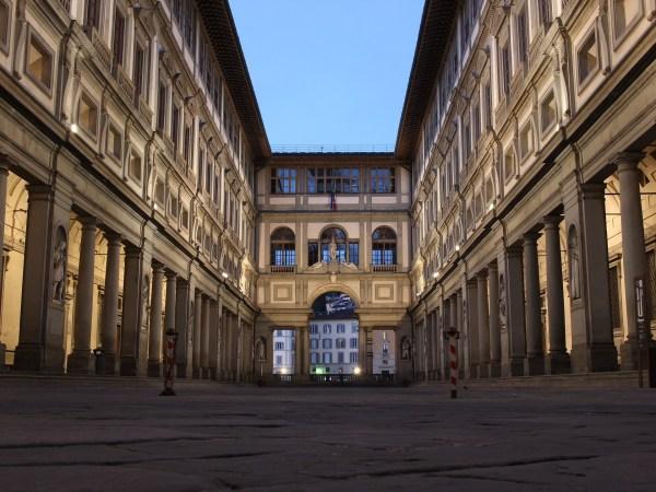 Uffizi Gallery Florence Italy