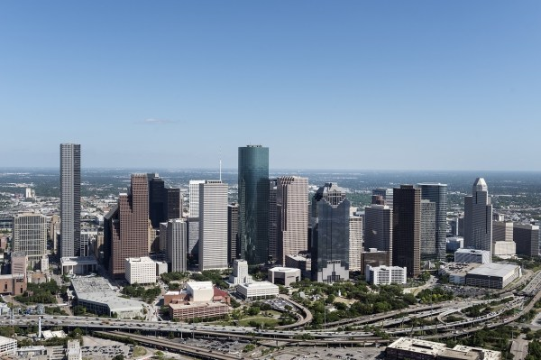 City Houston Texas Skyline