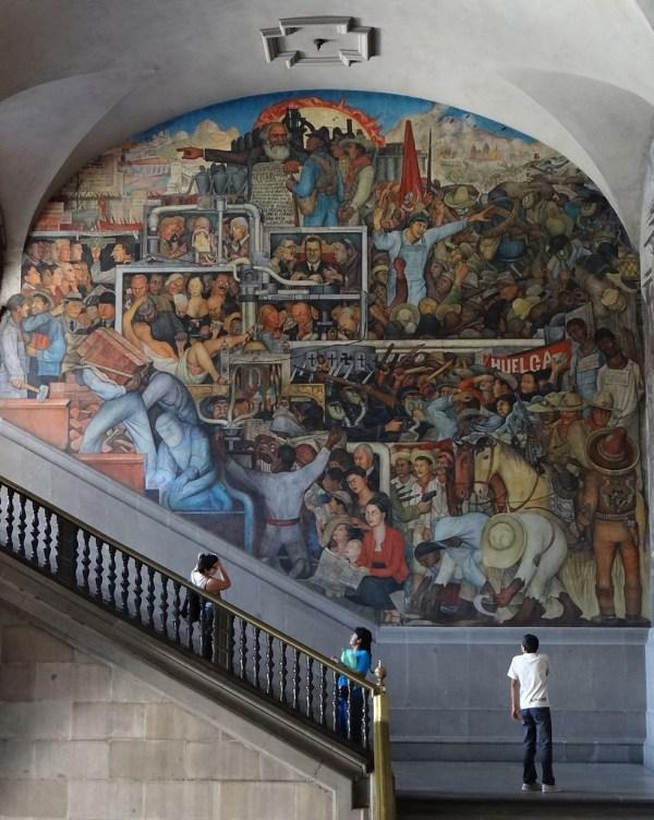 Diego Rivera Murals Mexico History
