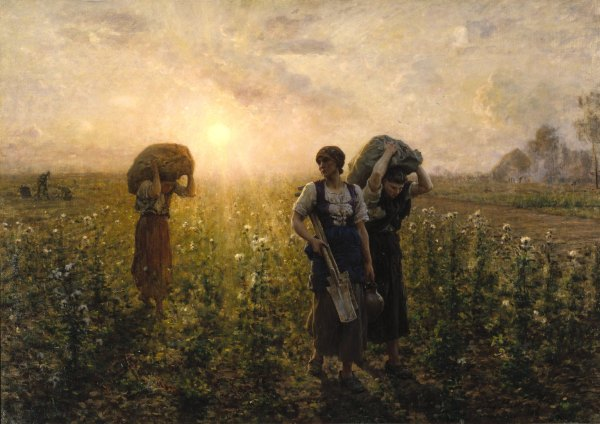Jules Breton Paintings