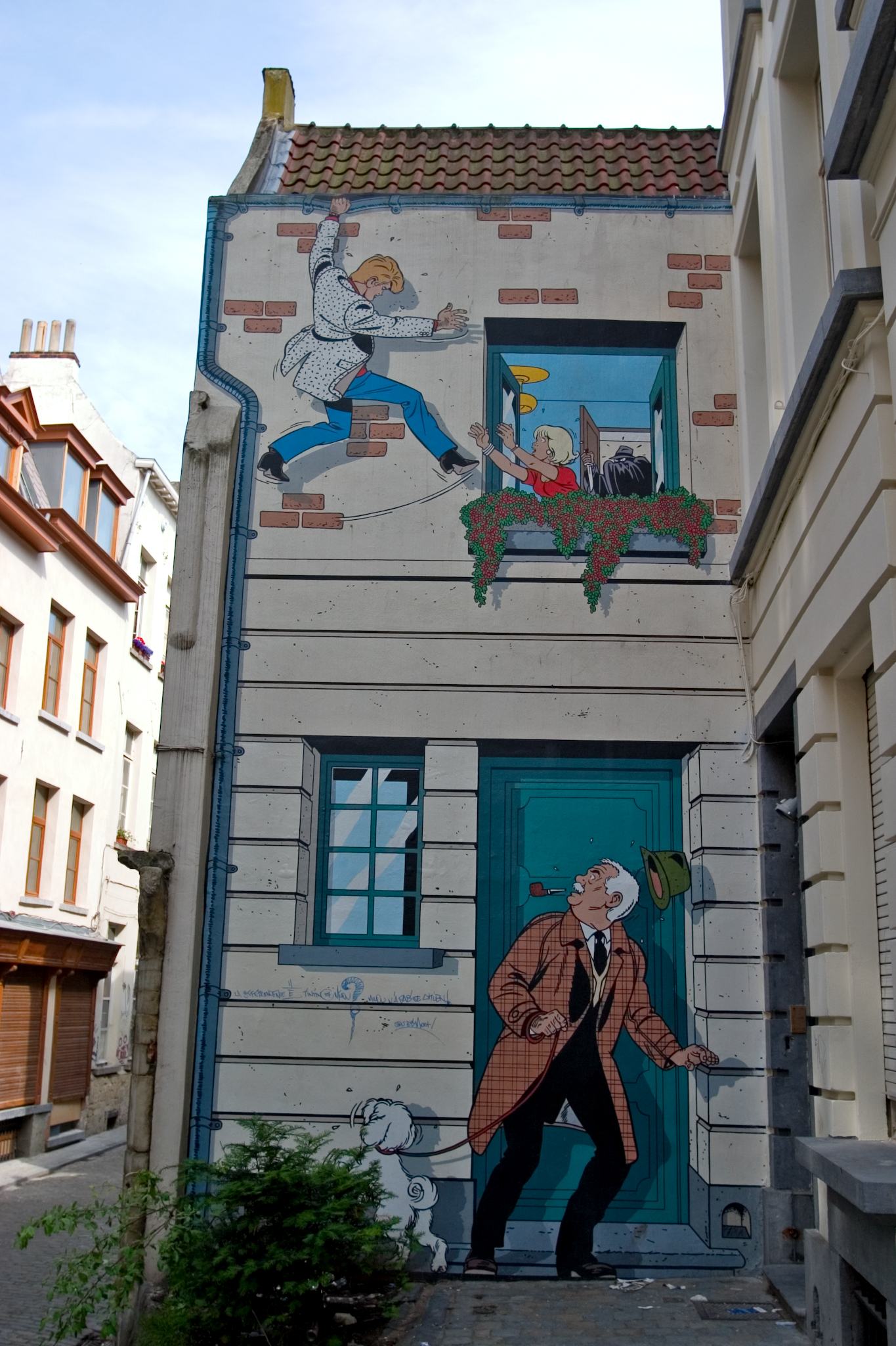 Top 10 Murals To Check Out On The Brussels Comic Book Route