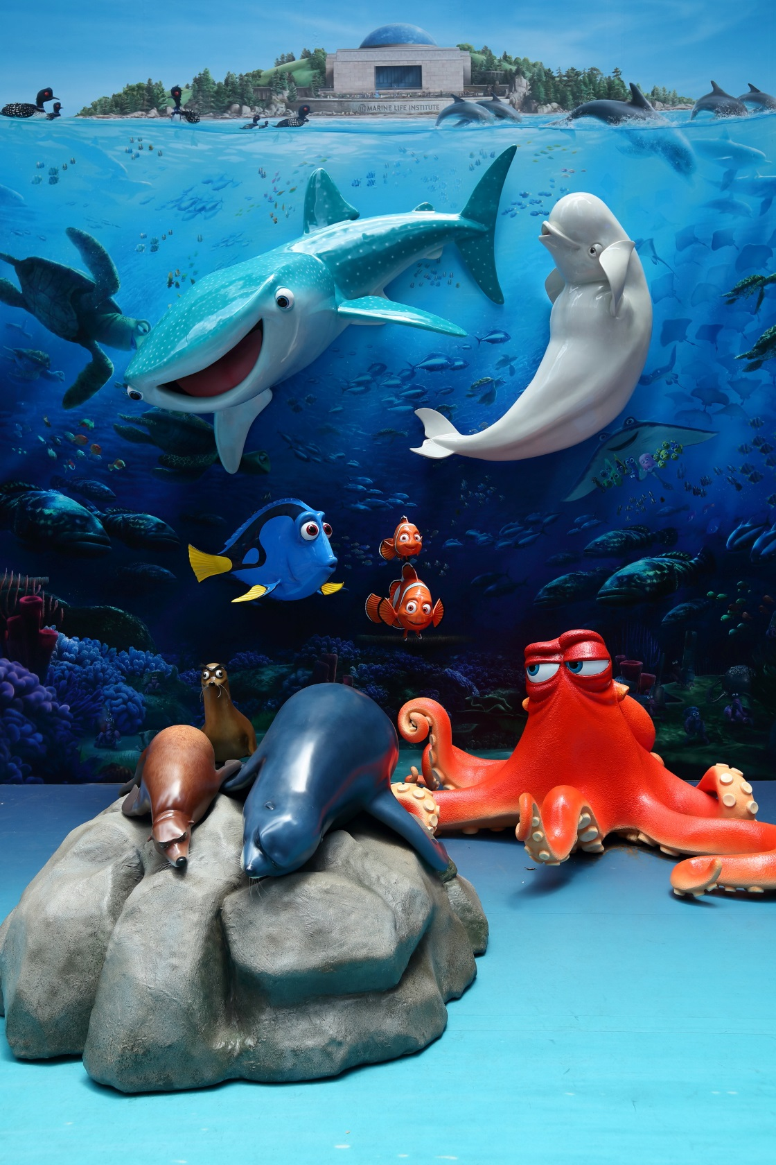Finding Dory Comes To Times Square Hong Kong