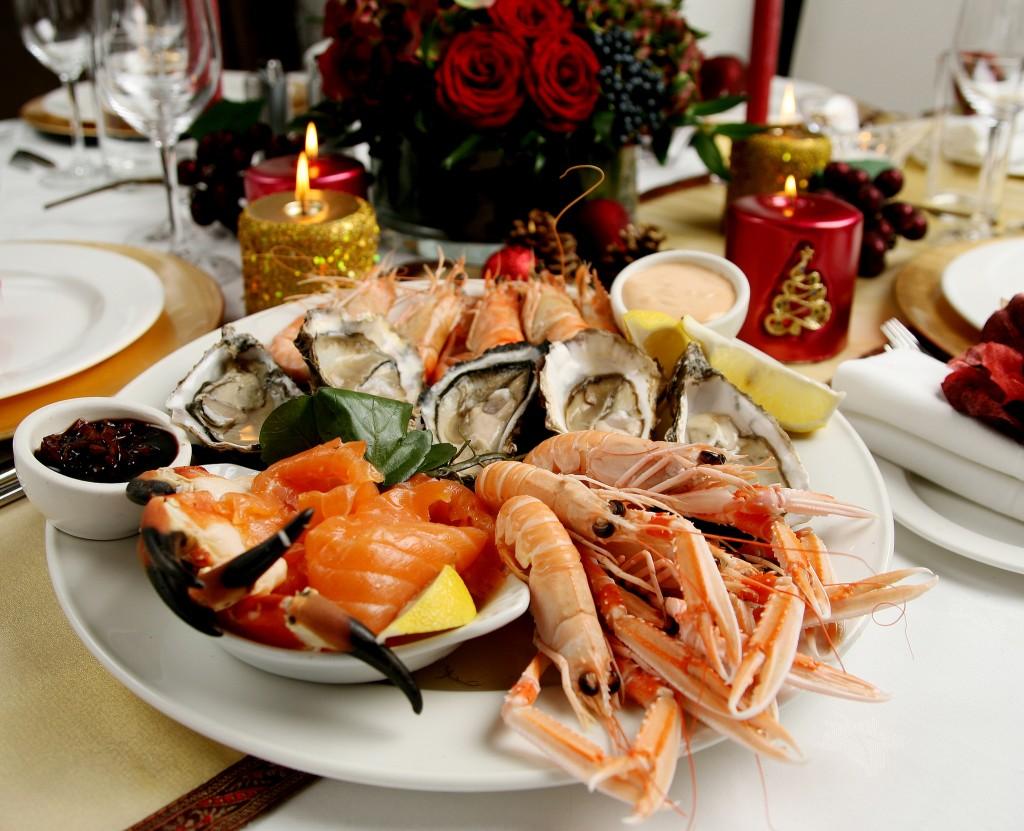 Christmas seafood © Beta Bajgartova/Flickr