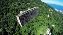Massive Abandoned Hotel Sits In Middle Of