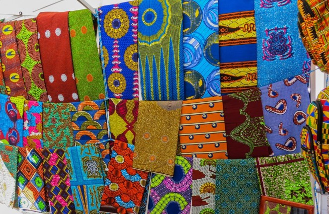 African fabric © Ninara/Flickr