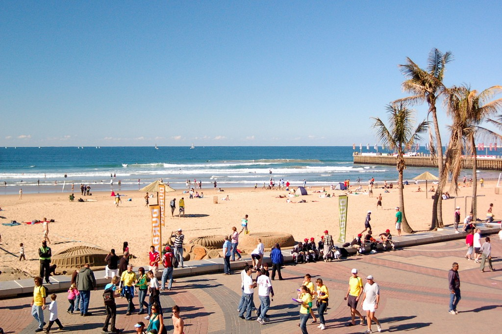 Durban beachfront © Jit bag/Flickr