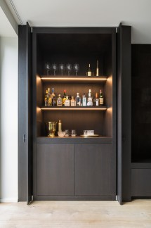 Bar Built in Cabinet Ideas