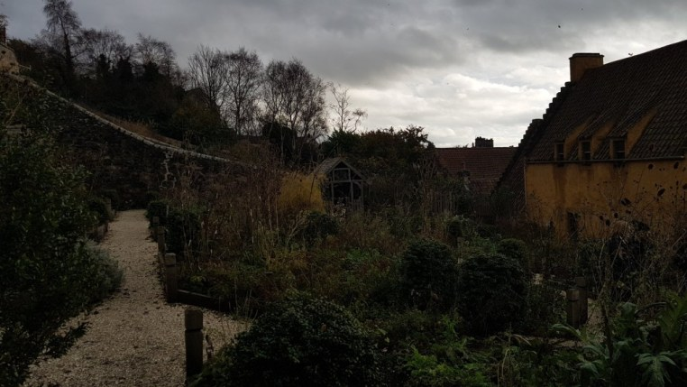 The herb garden behind Culross Palace (on the left) | © Culture Trip