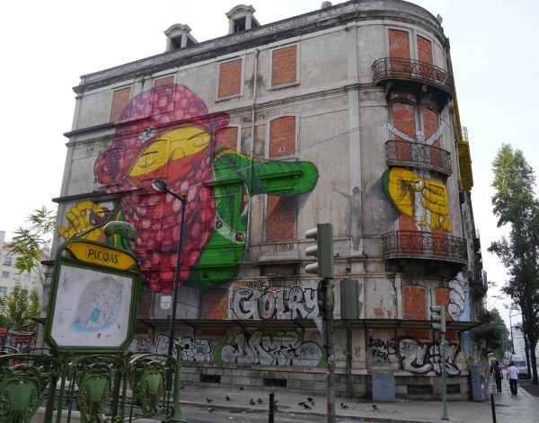 Walking Tour Of Lisbon' Street Art