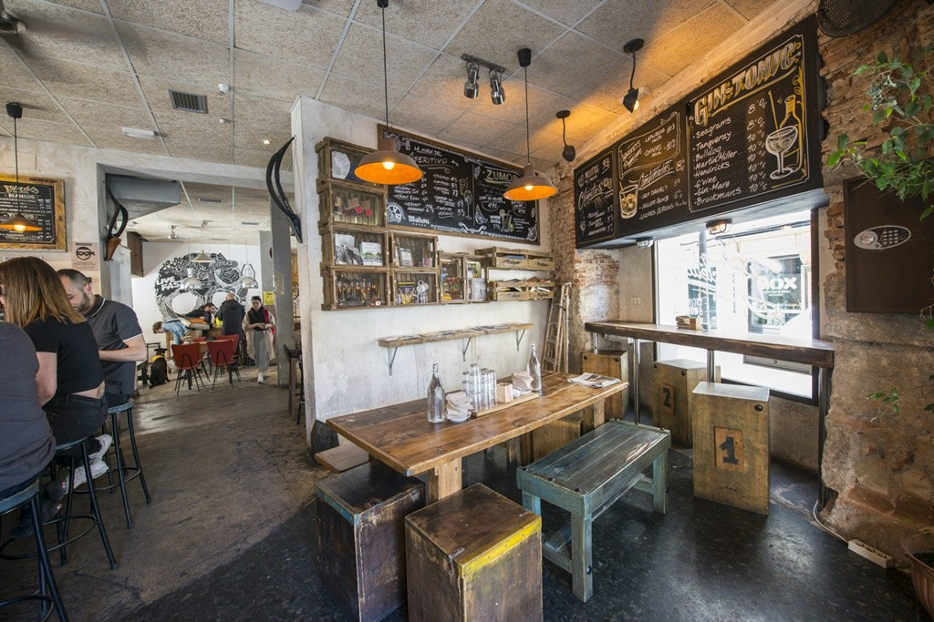 The Coolest Coffee Shops In Madrids Malasaa Neighbourhood
