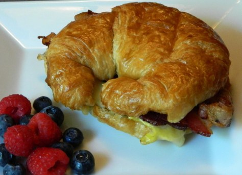 Croissant Sandwich, Courtesy of Wet Hen Cafe