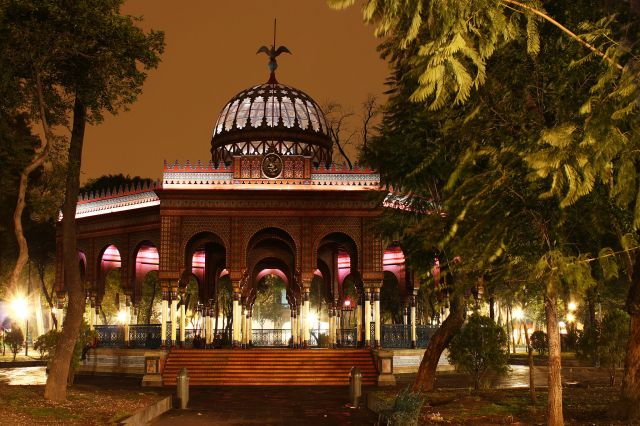 A Brief History of the Kiosco Morisco, Mexico City