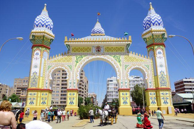 The grand entrance to Seville's April Fair | © Silvia B. Jakiello/Shutterstock