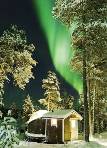 Magical Places Sleep Under Northern Lights