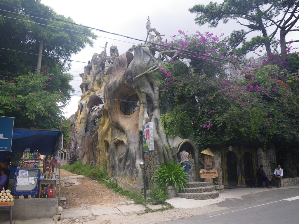 Hang Nga Guesthouse - the Crazy House in Vietnam