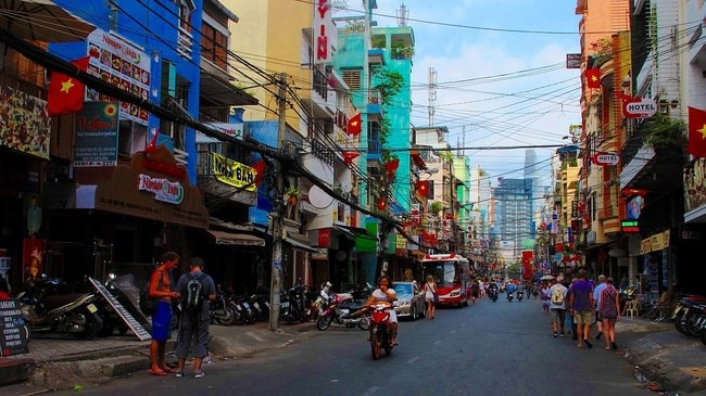 A Guide To Ho Chi Minh Citys Bui Vien Backpacker Street