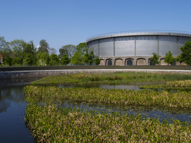 Gashouder, a large-scale concert venue, Westergasfabriek