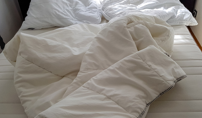 Colleges offer Level 5 NVQ in changing a duvet cover