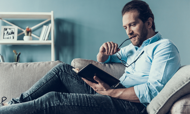 Man won't read books written by women in case he turns into one