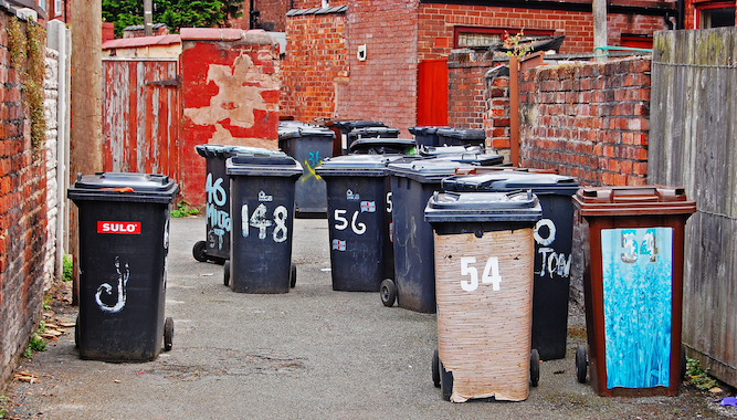 UK bins to stink 'worse than bins in Ibiza' this weekend