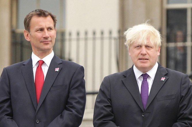 'That big blonde lad called you a bunch of nonces' Hunt tells Iran