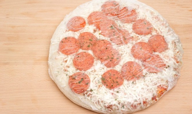 Supermarket accidentally sells pizza with enough toppings on it
