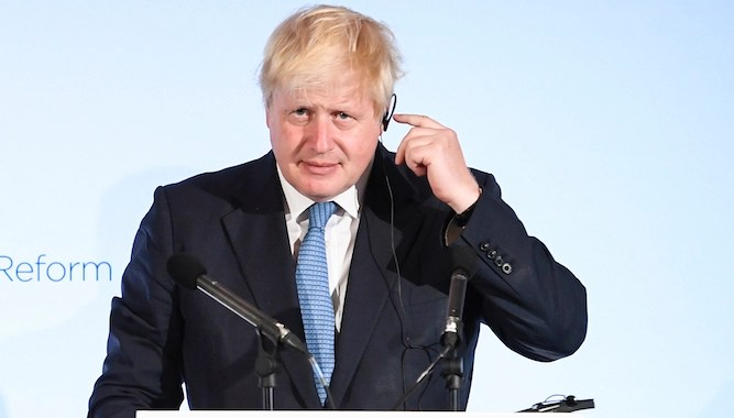 Will Boris Johnson make it down the narrow pathway to a Brexit deal, or toss himself off?