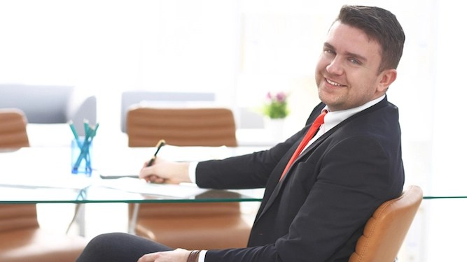 Office twat has three months of twattishness saved up