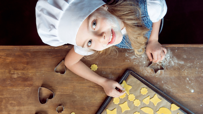 Nobody wants to eat cookies baked by a four-year-old