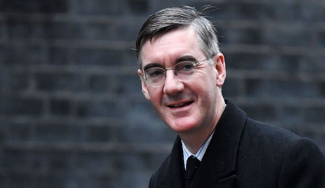 How is Jacob Rees-Mogg trolling everyone today?